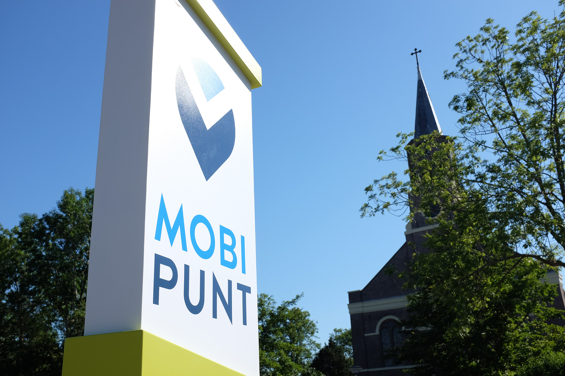 Mobipunt paal 't Veld