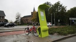 3D Mobipunt paal Anna Paulowna Burgemeester Mijnlieffstraat